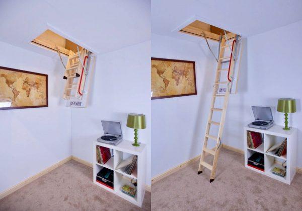 ahşap çatı merdiveni fiyatı