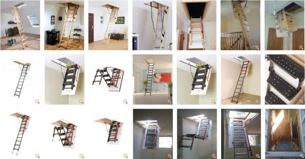 çatı merdivenler grubu