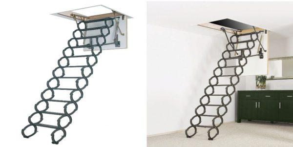 makaslı çatı merdiveni kullanım şekli