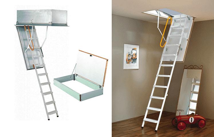 minka metal katlanır çatı merdiveni fiyatı