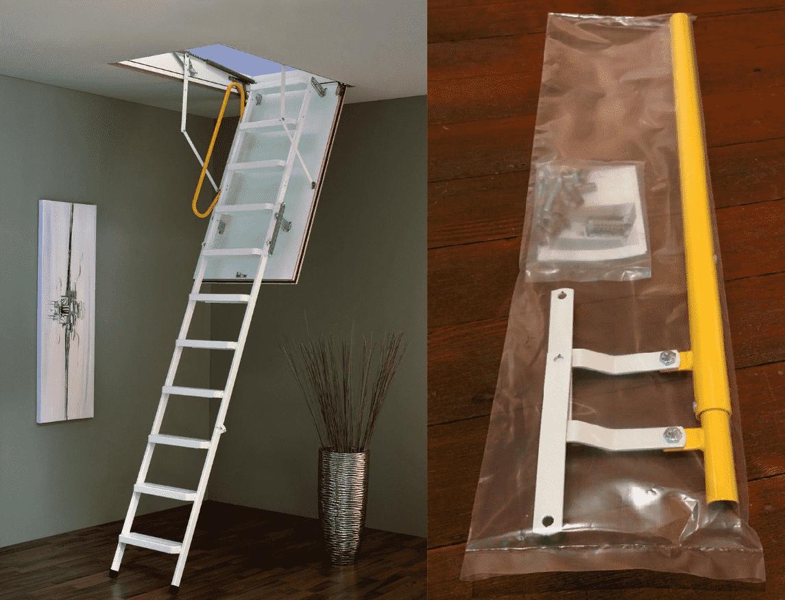 minka çatı merdivenleri montajı