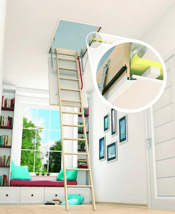 fakro optistep çatı merdiveni modelleri