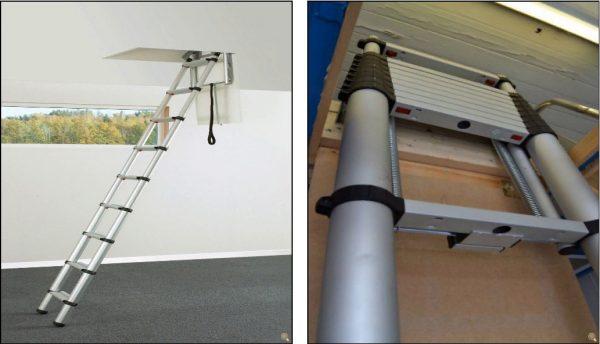 en uygun teleskopik çatı merdiven özellikleri